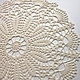 Текстиль, ковры ручной работы. Ярмарка Мастеров - ручная работа. Купить Салфетка вязаная большая. Handmade. Салфетка вязаная, подарок