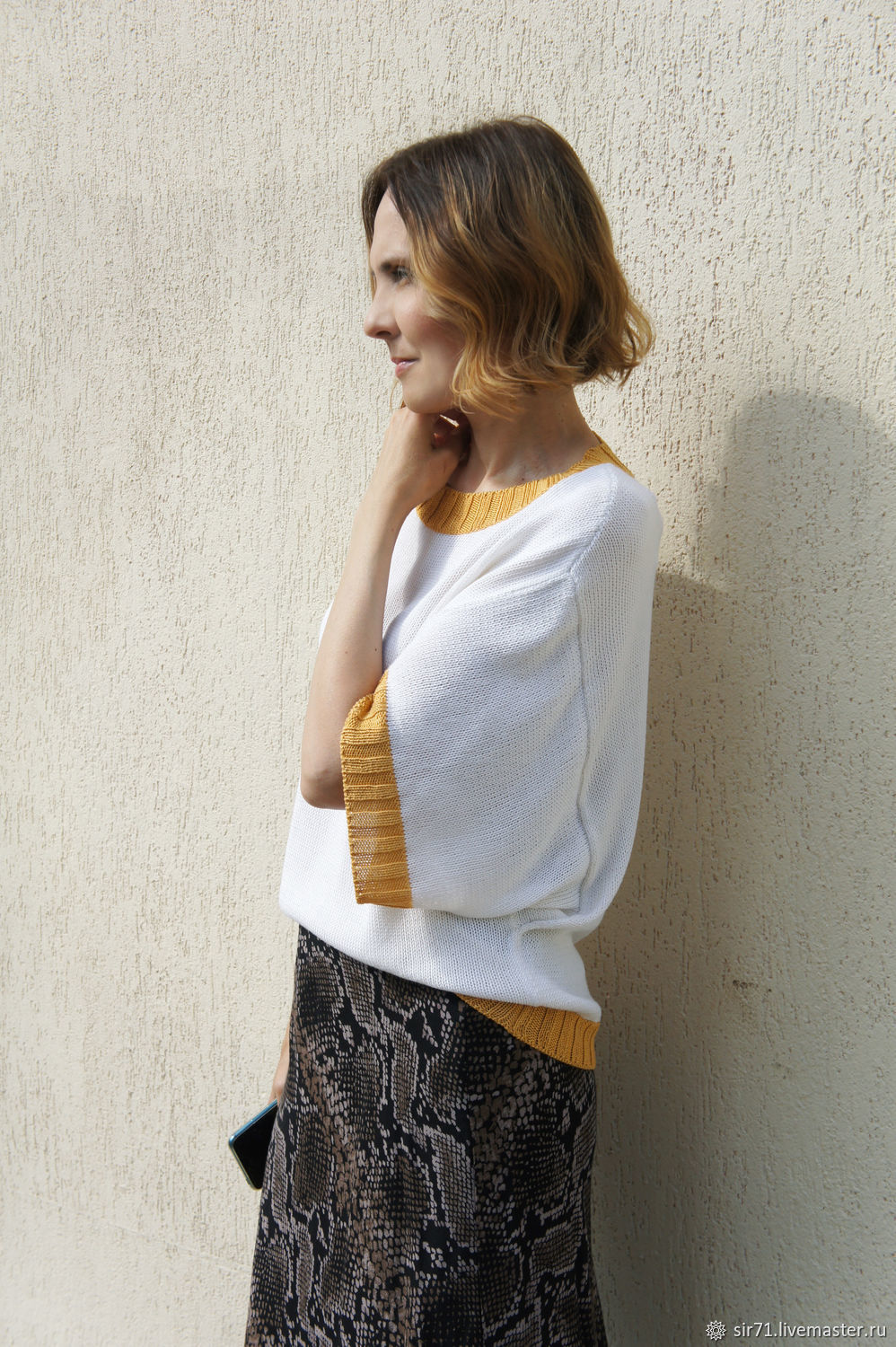 Jumpers made of silk with sleeves envelopes, Jumpers, Voronezh,  Фото №1