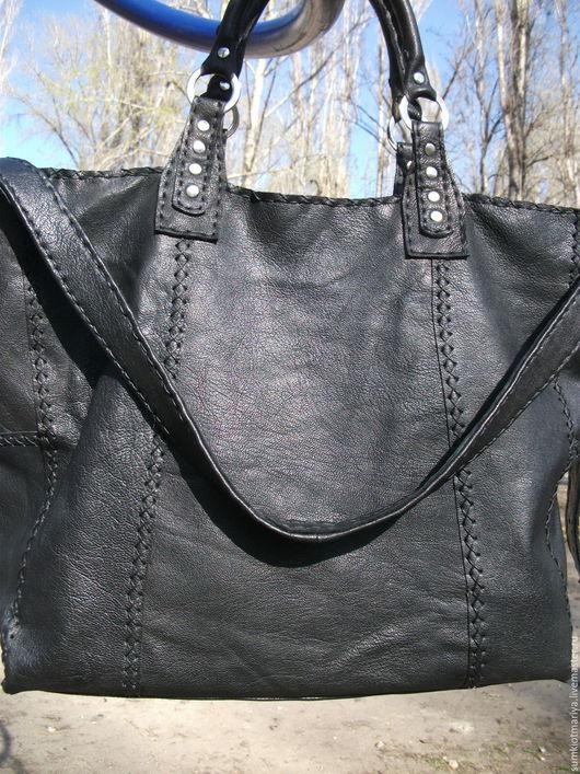 Женские сумки ручной работы. Ярмарка Мастеров - ручная работа. Купить Сумка GANNI  черная. Handmade. Черный