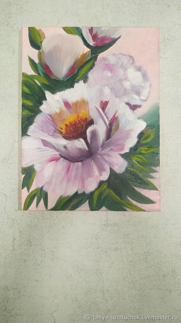 Розовые пионы, Картины, Ижевск,  Фото №1