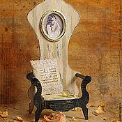 """Для дома и интерьера ручной работы. Ярмарка Мастеров - ручная работа Трон для мишки ,куклы  """"ALICE"""".. Handmade."""