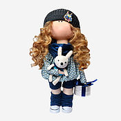 Материалы для творчества handmade. Livemaster - original item Sewing kit doll Kira. Handmade.