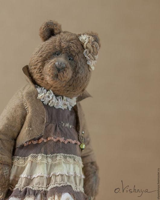 Мишки Тедди ручной работы. Ярмарка Мастеров - ручная работа. Купить Тоффи (Toffy)  мишка тедди. Handmade. Коричневый, винтаж