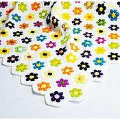 Для дома и интерьера handmade. Livemaster - original item Children`s knitted plaid