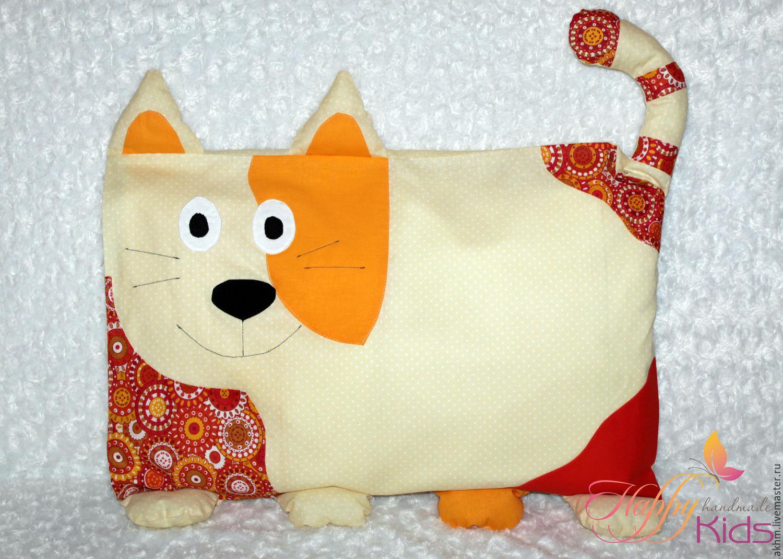Декоративная подушка собачка своими руками 9