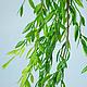 Материалы для флористики ручной работы. Ярмарка Мастеров - ручная работа. Купить Р002 Искусственная лиана. Handmade. Зеленый, материалы для флористики