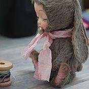 Куклы и игрушки ручной работы. Ярмарка Мастеров - ручная работа Тедди долл зайка №2. Handmade.