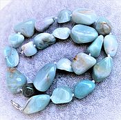 Украшения handmade. Livemaster - original item Beads from natural MINT Amazonite. Handmade.