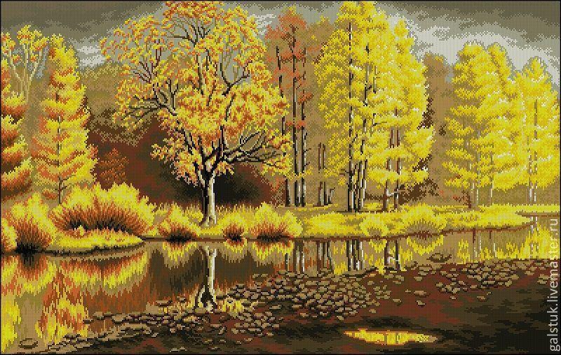 Золотая осень лучшие картинки