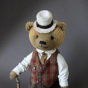 Куклы и игрушки ручной работы. Ярмарка Мастеров - ручная работа Маттео - коллекционный медведь тедди. Handmade.