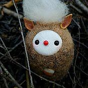 """Войлочная игрушка ручной работы. Ярмарка Мастеров - ручная работа Войлочная игрушка: """"Волшебный дымок"""". Handmade."""