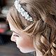 ободок с цветами, ободок для волос, ободки, ободки с цветами, ободки для волос, ободок с камнями, свадебные аксессуары, свадебные украшения, украшение невесты, украшения, украшения из бисера, украшени
