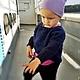 Одежда для девочек, ручной работы. Кофта свитер детский для девочки. Нюнька (флешки, сувениры). Интернет-магазин Ярмарка Мастеров. Однотонный