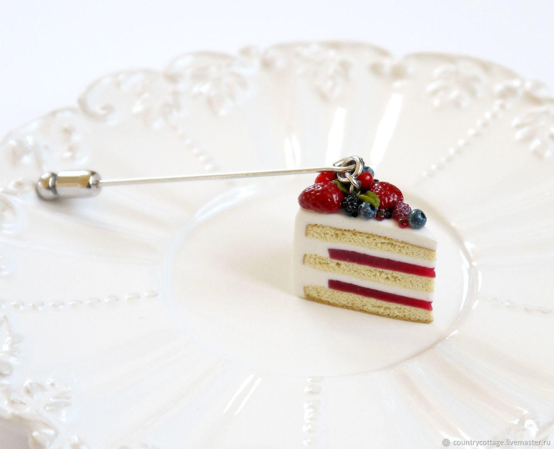 Brooch-needle ' Berry cake', Stick pin, Troitsk,  Фото №1