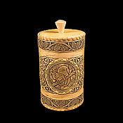 Для дома и интерьера handmade. Livemaster - original item Box of birch bark, a large