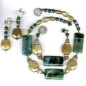 Украшения handmade. Livemaster - original item The collection of necklaces, bracelets and earrings set jewelry. Handmade.