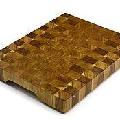 Для дома и интерьера handmade. Livemaster - original item End cutting Board №87. Handmade.