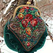Сумки и аксессуары handmade. Livemaster - original item Bag malachite box. Handmade.