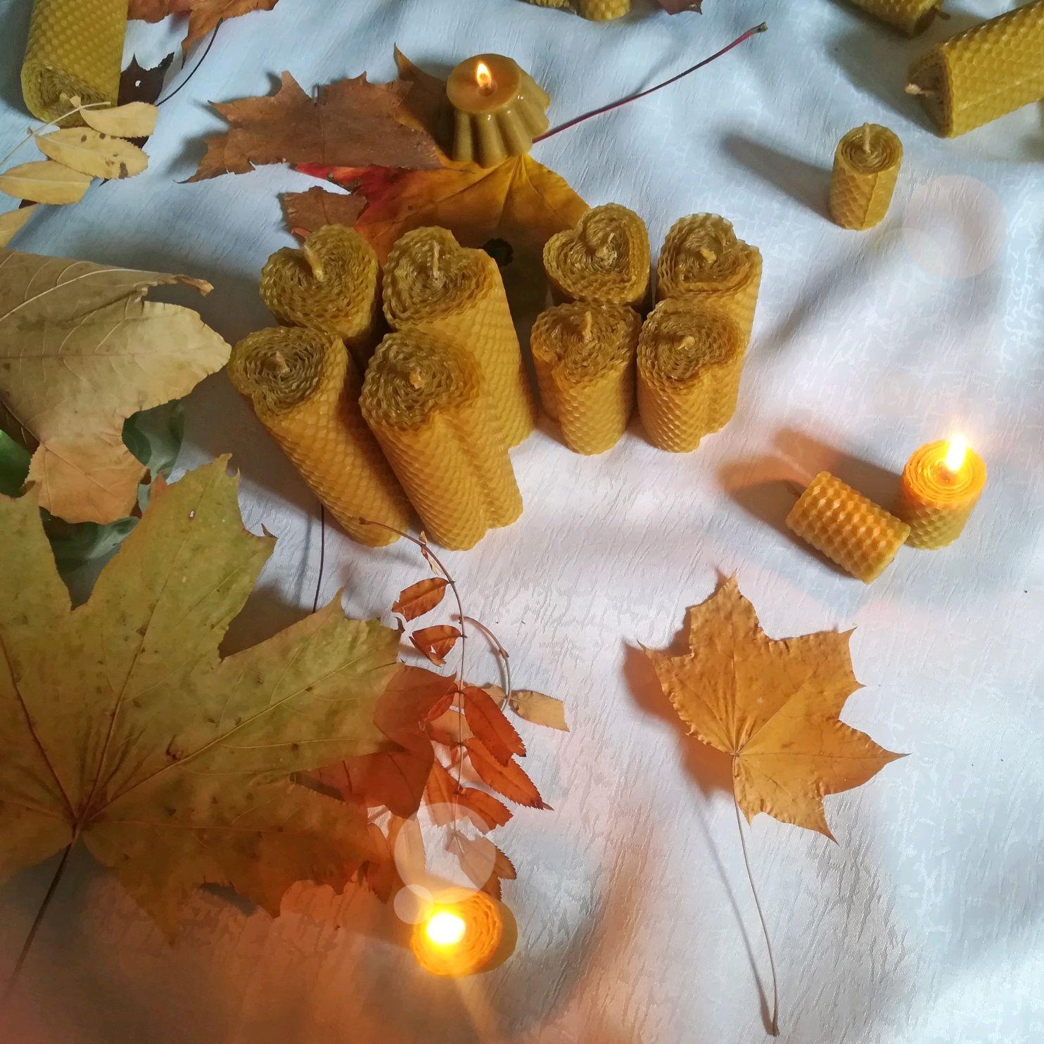 Свечи из вощины сердечки, Свечи, Рязань,  Фото №1