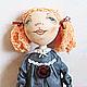 """Куклы тыквоголовки ручной работы. Ярмарка Мастеров - ручная работа. Купить Текстильная кукла """"Настенька"""",бывшая """"Изабеллой"""". Handmade."""