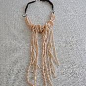 Украшения handmade. Livemaster - original item Necklace-tie made of crystal