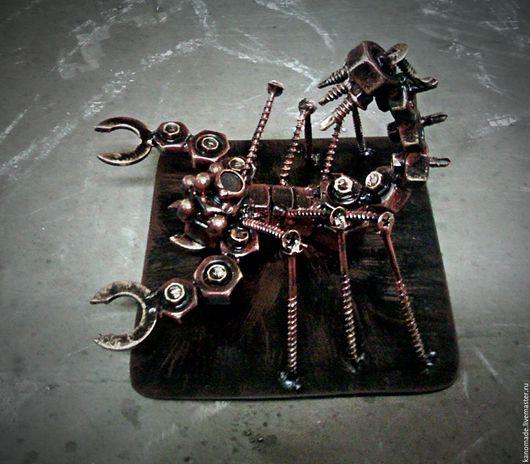 Подарки по знакам Зодиака ручной работы. Ярмарка Мастеров - ручная работа. Купить Скорпион металл. Handmade. Комбинированный, металл