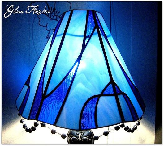 Lamps handmade. Livemaster - handmade. Buy Stained glass Lamp with Agate.Table lamp, classic style, interior decor