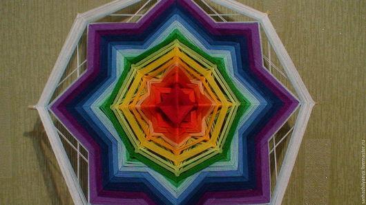 """Медитация ручной работы. Ярмарка Мастеров - ручная работа. Купить Мандала """"Гармония тела и духа"""". Handmade. Комбинированный, мандала"""