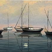 Картины и панно handmade. Livemaster - original item Morning / 40h50 cm / oil on canvas. Handmade.