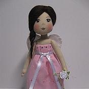 Куклы и игрушки ручной работы. Ярмарка Мастеров - ручная работа Розовый ангел. Handmade.