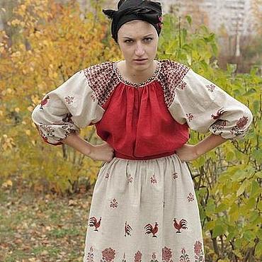 Одежда ручной работы. Ярмарка Мастеров - ручная работа Баба-Яга в молодости. Handmade.