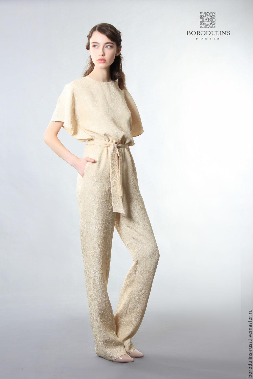 Overalls'Beige evening ', Jumpsuits & Rompers, Moscow,  Фото №1