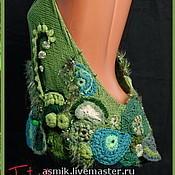 """Одежда ручной работы. Ярмарка Мастеров - ручная работа Вязаный длиный жилет  """"Очарование"""". Handmade."""