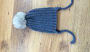 Работы для детей, ручной работы. Ярмарка Мастеров - ручная работа шапка детская. Handmade.