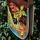 Женские сумки ручной работы. Сумка Тихая заводь. Мастерская ГришЛАНдия (grishlandia). Интернет-магазин Ярмарка Мастеров. Сумка кожаная