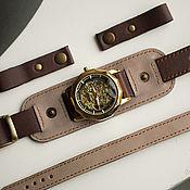 Украшения handmade. Livemaster - original item Watch: Double Grey 3in1. Handmade.