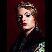 Украшения handmade. Livemaster - original item Kokoshnik - Russian Princess. Handmade.