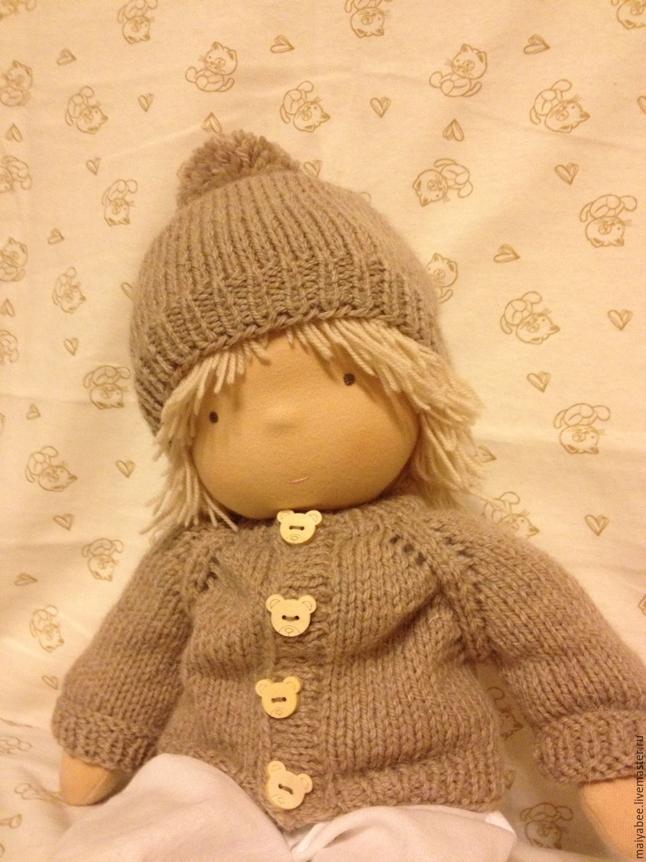 Вальдорфская кукла. Кукла-мальчик. 40 - 42 см, Вальдорфские куклы и звери, Москва,  Фото №1