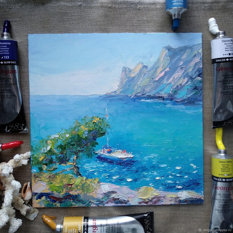 Oil painting 'Sea air', Pictures, Nizhny Novgorod,  Фото №1