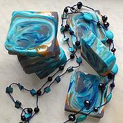 """Косметика ручной работы. Ярмарка Мастеров - ручная работа Мыло """"Морской бриз"""". Handmade."""