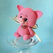Куклы и игрушки ручной работы. Ярмарка Мастеров - ручная работа Хрюшка.. Handmade.