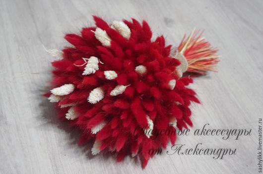 Свадебные цветы ручной работы. Ярмарка Мастеров - ручная работа. Купить Букет из сухоцветов. Handmade. Сухоцветы, букет невесты