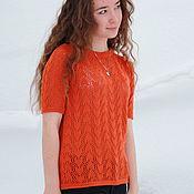 Одежда handmade. Livemaster - original item Blouse openwork