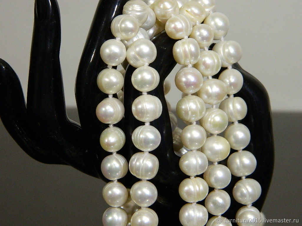 Natural pearls, Ivory. for PCs, Beads1, Saratov,  Фото №1