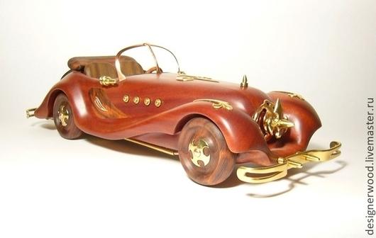 Автомобильные ручной работы. Ярмарка Мастеров - ручная работа. Купить model car. Handmade. Красное дерево, авторская работа, модель