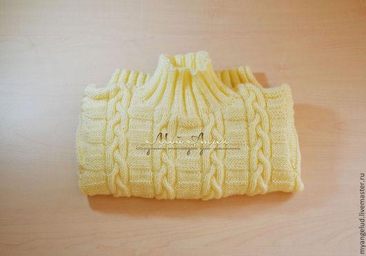 Одежда унисекс ручной работы. Ярмарка Мастеров - ручная работа. Купить Детский свитер Первый снег. Handmade. Белый, джемпер
