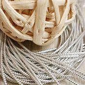 Шнуры ручной работы. Ярмарка Мастеров - ручная работа Трунцал витой Серебро. Handmade.