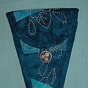 Материалы для творчества ручной работы. Ярмарка Мастеров - ручная работа Чехол для ножниц-цапелек. Handmade.