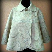 Одежда ручной работы. Ярмарка Мастеров - ручная работа Пелерина валяная. Handmade.