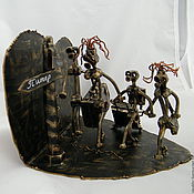 Сувениры и подарки handmade. Livemaster - original item The parting with his Homeland. Handmade.